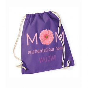 Plecak Mama czarodziejka fioletowy