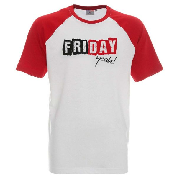 Koszulka męska z napisem friday