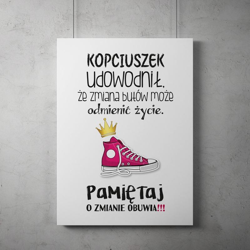 Plakat Kopciuszek