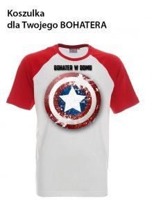Koszulka dla Twojego Bohatera