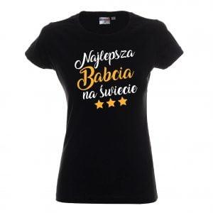 Koszulka dla najlepszej babci