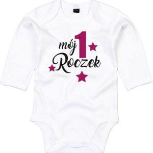 Body dla dziecka Mój pierwszy roczek dla dziewczynki
