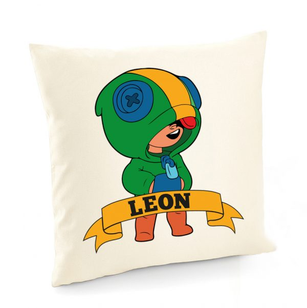 Poszewka na poduszkę Leon Brawl Stars.
