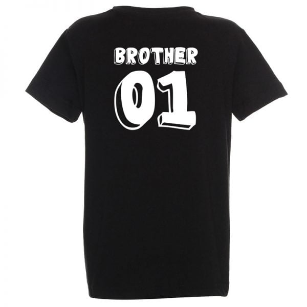 komplet koszulek dla rodzństwa