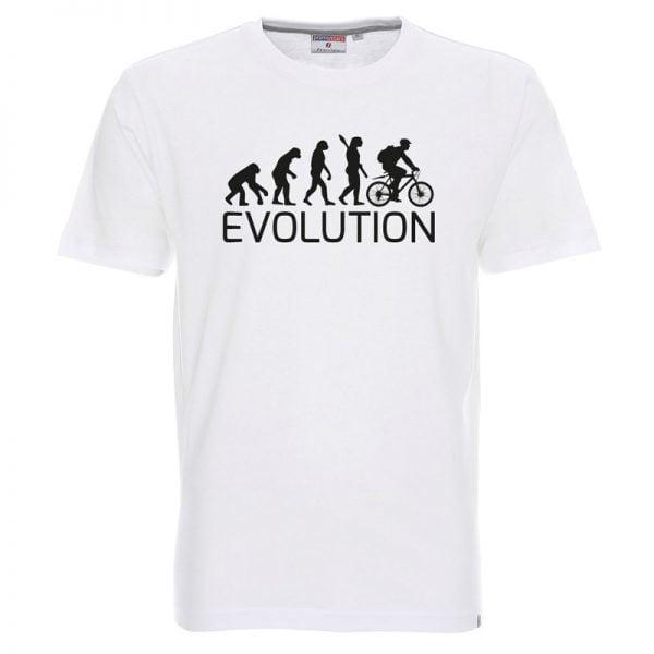 koszulka ewolucja rowera