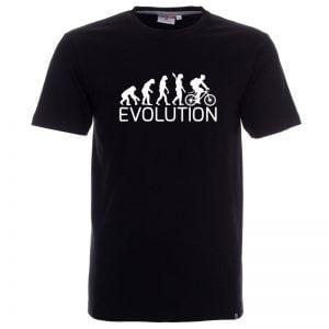 koszulka ewolucja rower