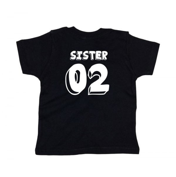 komplet koszulek dla rodzeństwa