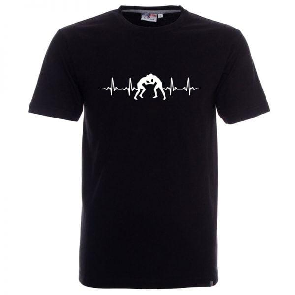 Koszulka czarna kardio zapasy