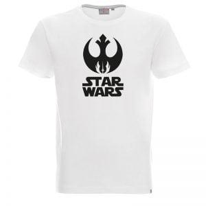 Koszulka biała Star Wars Moc Rebelii