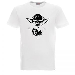 Biała koszulka z Jodą Star Wars